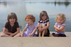 Sydney, Addy, Jane Anne, Molly