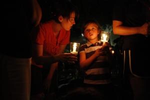 At Candlelight Devo